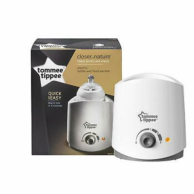 Tommee Tippee Closer To Nature Electric Single Bottle Food Milk Warmer White