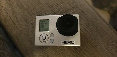 GoPro Hero3+ Silver Edition Camcorder with waterproof housing