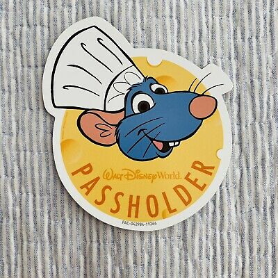 Disney World Chef Remy Ratatouille Passholder Magnet Food And Wine Festival 2019
