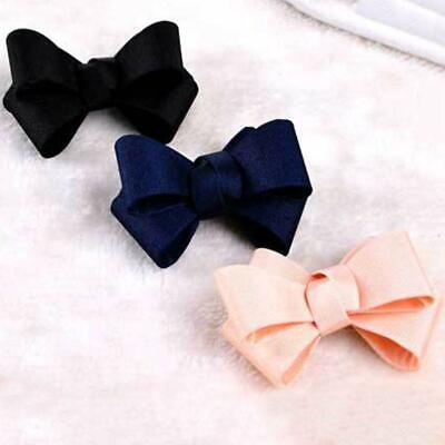 Color Grosgrain Ribbon Red Black Ivory Wedding Fashion Clips new Bow Shoe B1P6