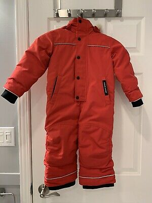 Canada Goose Grizzly Snowsuit Red 2T-3T