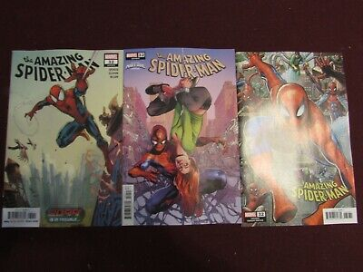 Amazing Spider-Man #32 Lot of 3 (Standard, Connecting & Mary Jane Variant)