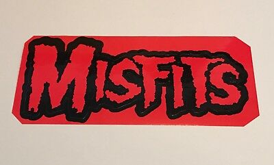 MISFITS Red sticker from 1995 Jerry Only Doyle Michale Graves Dr Chud evilive