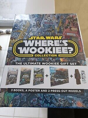 Star Wars Where's the Wookiee Collection Box Set - 3 Books + More New and Sealed