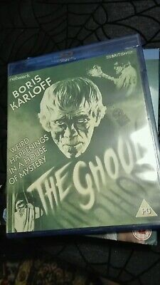 The Ghoul - Network Bluray - Boris Karloff Cult Horror Classic - Mint Condition