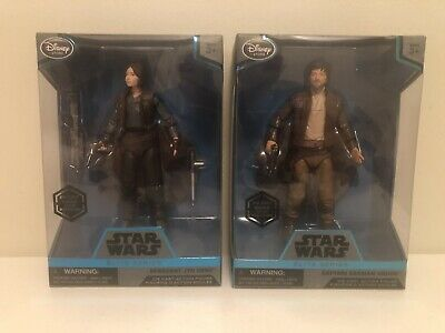 """Star Wars Elite Series 6"""" Captain Cassian & Jyn Erso Figure New in the Box"""
