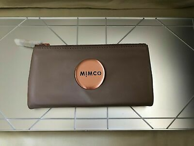 **Authentic** Bnwt Mimco Balsa Fold Wallet Copper Badge Rrp$179