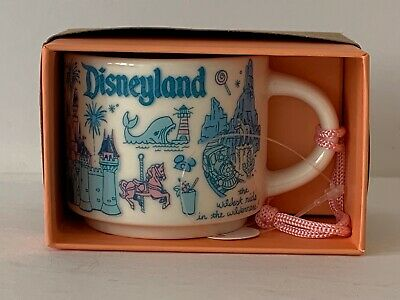 Disneyland Starbucks Been There Mug Ornament 2oz