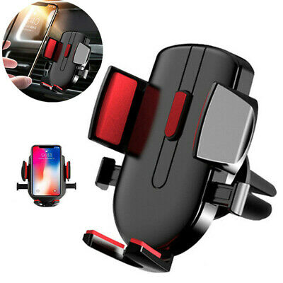 Universal Gravity Car Air Vent Mount Mobile Cell Phone Holder Stand Cradle uk