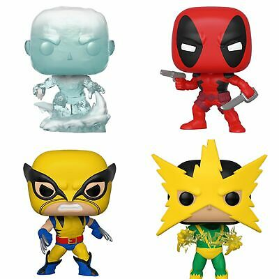 Marvel 80th First Appearance Funko Pops (NEW WAVE). IN STOCK. NEW. MINT