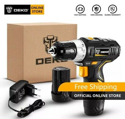 12V 2-Variable Speed Lithium Battery Cordless Mini Drill With Light (1Yr War).