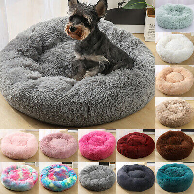 Comfy Calming Dog/Cat Bed Round Super Soft Plush Pet Bed Marshmallow Cat Bed AU