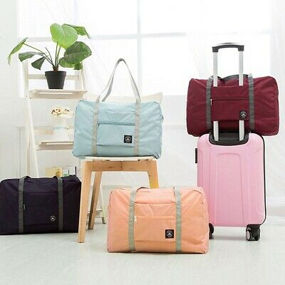 Waterproof Foldable Luggage Bag Large Duffel Storage Recyclable Travel Pouch