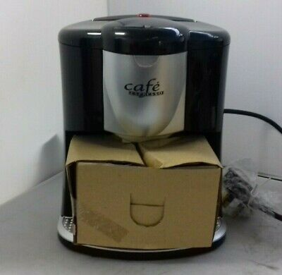 Unused Clifford James 'Cafe Espresso' 2-Cup Coffee Maker CM-303 D3704 24/10J