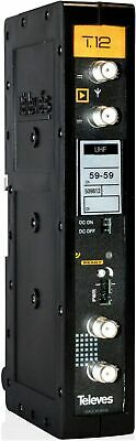 TELEVES Amplificador T.12 UHF monocanal//multicanal TDT 5086 Canal 38