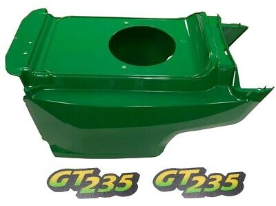 Lower Hood& Set of2 Decals Replaces AM132688 M126056Fits John Deere GT235LOW S/N