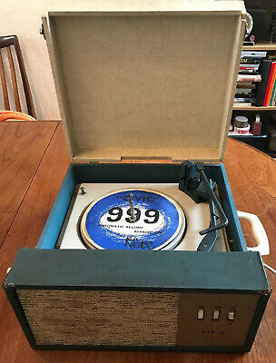 Rare Vintage Civic 999 Automatic Record Reproducer Player BSR Deck SPARES REPAIR