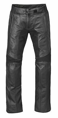Triumph Ladies Black Leather Cara Motorcycle Jean XL