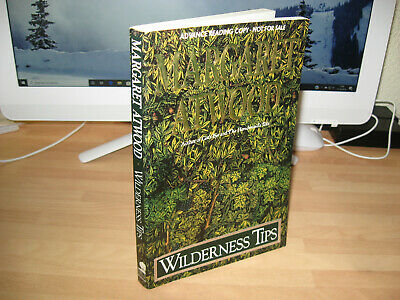 Margaret Atwood Wilderness Tips Signed 1991 US ARC proof Booker Prize Winner x 2