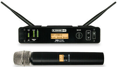Line 6 Digital Wireless Handheld Vocal Microphone Mic System XD-V75