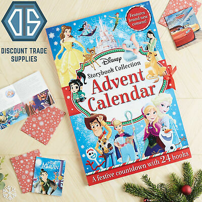 2019 New Disney Story Book Collection Christmas Advent Calendar with 24 Books