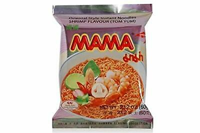 Mama Instant Noodle Tom Yum Flavor. (Pack Of 10)