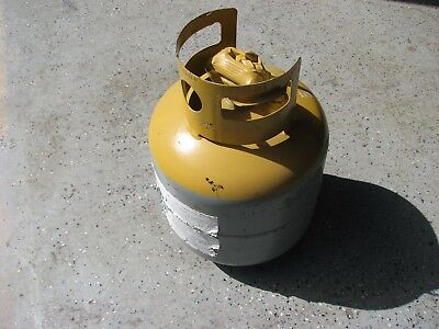 Refrigerant Recovery Tank with Test date that has expired 400 PSI rating
