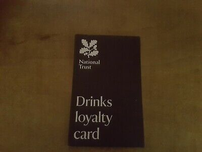 national trust drinks loyalty card hot drink
