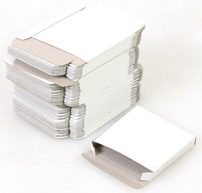 Cardboard Movie Film Boxes, White 3x3x0.5