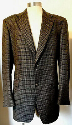 🌟Exquisite BURBERRY🌟LONDON Sports Coat Blazer 42 Long (Blues, Browns) Flawless