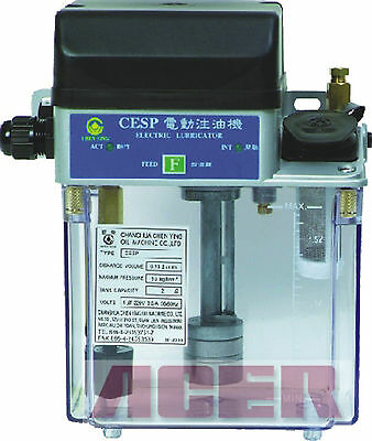 Dial Type Electric Auto Lubricator (turn-off-feeding) CESP-2L-110V Bijur