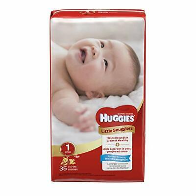 Huggies Diapers Little Snugglers Disney Size 1 (Up to 14 lb),  35 CT