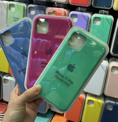 Luxury Liquid Silicone Case For Apple IPhone 11 Pro Max 11Pro High-Quality Cover