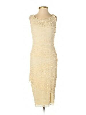 Anthropologie Bailey 44 Tiered Lace Sleeveless Dress Size