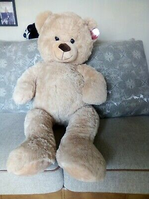 giant large soft and cuddly teddy bear new approx 36 inches tall