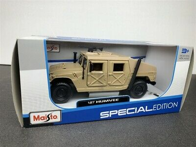 Hummer Humvee Die Cast Model Tan 1/27 By Maisto
