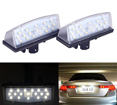 LED License Plate Light Assy For Toyota Camry Highlander Avalon Prius Venza Vios