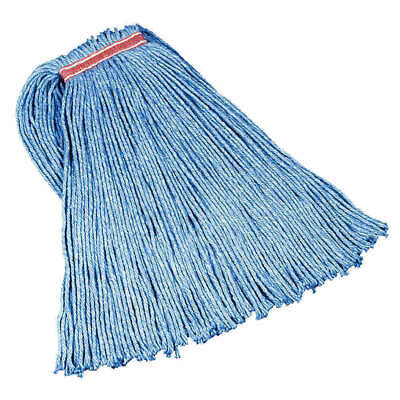 3  RUBBERMAID String Wet Mop Synthetic Blue