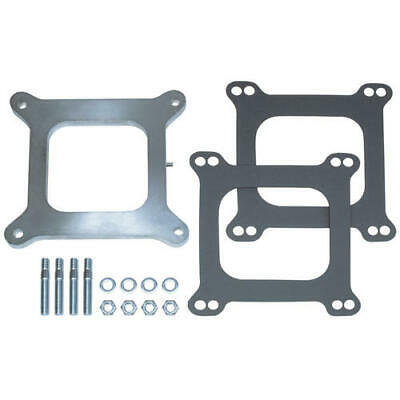 """2094 Trans Dapt Performance 3/8"""" Tall, Holley 4Bbl Spacer With Tube And Cap"""