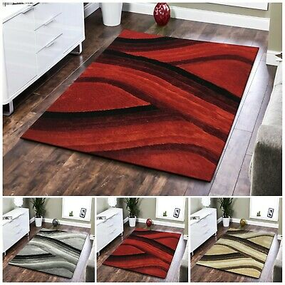 Large Shaggy Rugs For Bedroom Living Room & Hall Soft Area Rug Floor Carpet Mats