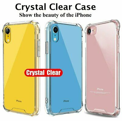 iPhone XR/XS/Max/X Case Genuine Clear Ultra Hybrid Shockproof Hard Cover Apple