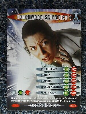 DR WHO BATTLES IN TIME NO.049 Joseph Green