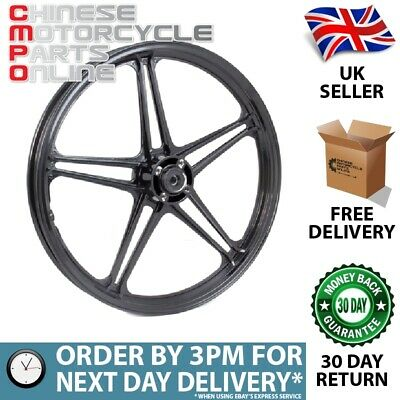 Black Motorcycle Wheel (front) (MFW070) for Lexmoto (#070)