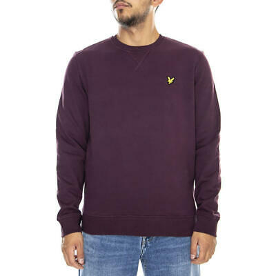 LYLE /& SCOTT FELPA CREW NECK ML424VB Z363 GREEN STONE