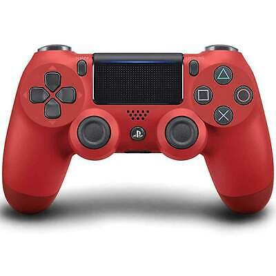 Sony Playstation 4 Wireless Dualshock 4 V2 Magma Red PS4 Controller Neu rot