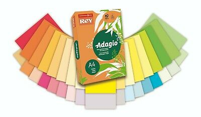 A5 COLOURED PAPER CARD CLAIREFONTAINE ADAGIO  PRINTER CRAFT COPIER 80g 160g 240g