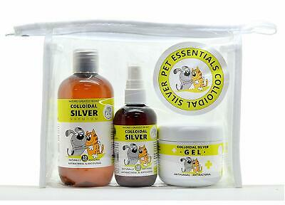 Optimised Energetics Colloidal Silver for pets Essentials Pack