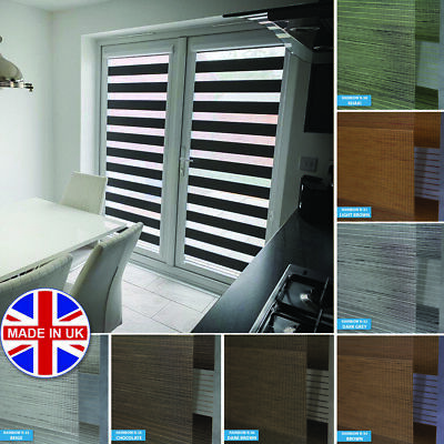 Made to Measure Premium Day and Night Vision/Zebra Window Perfectly Fitted Blind