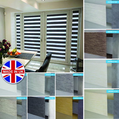 Premium Perfectly Fitted Made to Measure Day and Night Vision/Zebra Window Blind
