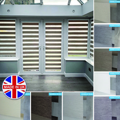 Premium Made to Measure Perfectly Fitted Day and Night Vision/Zebra Window Blind